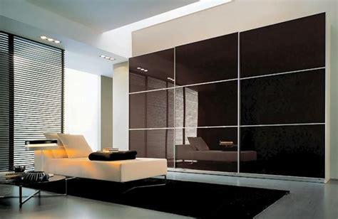 Reasonably Priced Wardrobes by Zalf Black Glass On The Three Sliding Doors Wardrobe