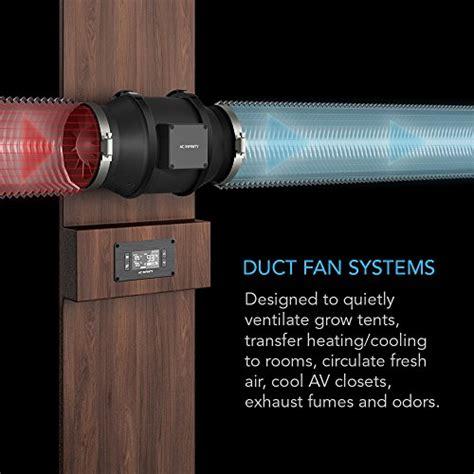 quiet inline duct fan ac infinity cloudline t4 quiet inline duct booster fan 4