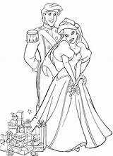 Princess Coloring Ariel Christmas Pages Mermaid Princesses Philip Colouring Printable Disney Princesse sketch template
