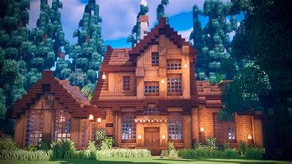 Minecraft Woods Wooden Houses Building Cottage Easy