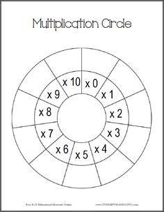 printable multiplication worksheets images