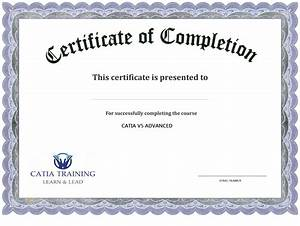 13 certificate of completion templates excel pdf formats With certification of completion template