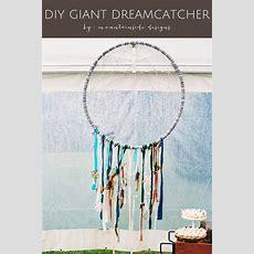 Diy Giant Dreamcatcher Tutorial  Montana, Jazz And Home