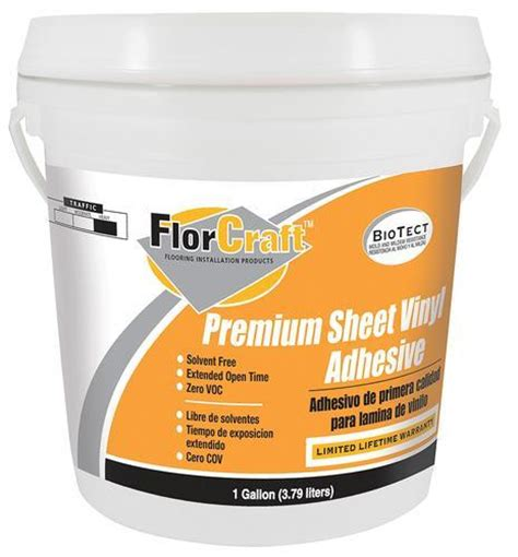 Vinyl Floor Seam Sealer Walmart by Sheet Vinyl Adhesive Shop Armstrong White Sheet Vinyl