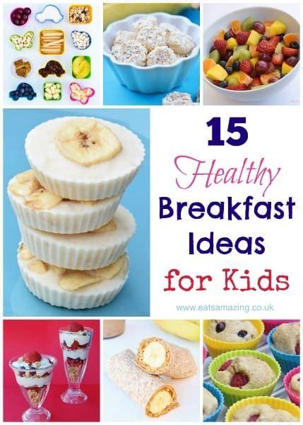 healthy breakfast ideas  kids