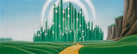 stock photo emerald city  wizard  oz emerald city