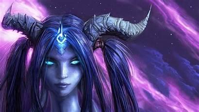 Draenei Warcraft Shaman Wallpapers Fantasy Warrior Background