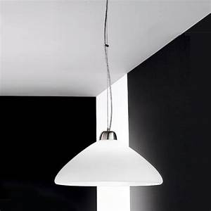 EARTH Modern pendant Lamp for the Kitchen in Blown Glass