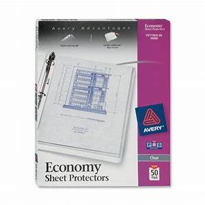 clear sheet protector card photo sleeves file document With clear document protector
