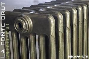 Peinture Pour Radiateur En Fonte : radiateur fonte brut vernis vintage ~ Premium-room.com Idées de Décoration