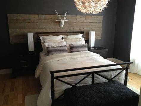 fabriquer housse canapé d angle tete de lit bois de grange