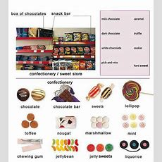 Sweets And Confectionery Learning English Basics