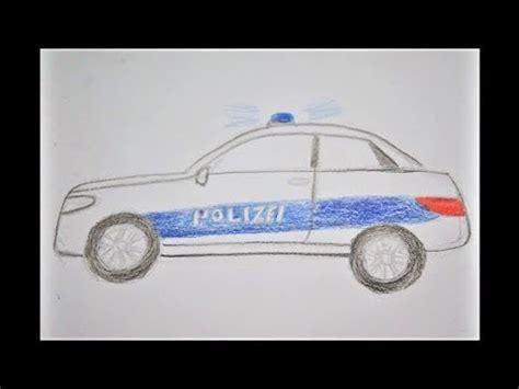 polizeiauto zeichnen   draw  police car  kids