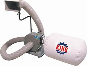 King Canada KC-1105C 1 HP Dust Collector - KMS Tools