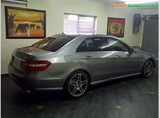 2010 Mercedes Benz E63 AMG used car for sale in Boksburg