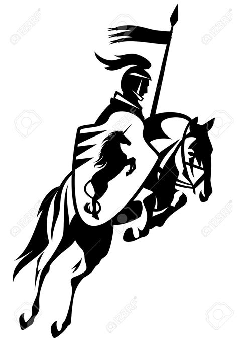 20,920 Medieval Knight Cliparts, Stock Vec #104497