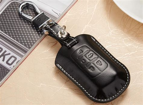 leather car key fob cover case  buick lacrosse regal
