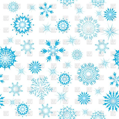 Border Snowflake Background Clipart by Clipart Snowflakes Background Clipground