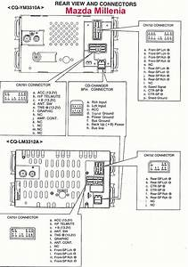 Car Audio Wire Diagram Codes Mazda