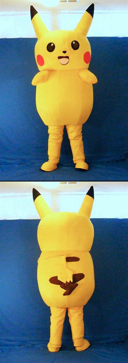 Pikachu Suit Mascot Unownace Weasyl