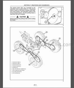 New Holland L160 L170 Repair Manual  Skid Steer Loader