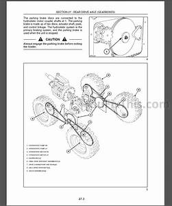 New Holland L160 L170 Repair Manual  Skid Steer Loader   U00ab Youfixthis