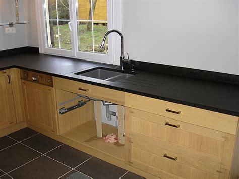 nettoyant inox cuisine intérieur granit plan de travail en granit noir