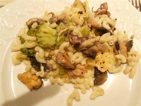 gratin de p 226 tes aux fruits de mer et brocoli cuisine maison gourmande de sylvmel