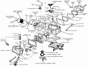 Motorcraft 2150 Carburetor Diagram
