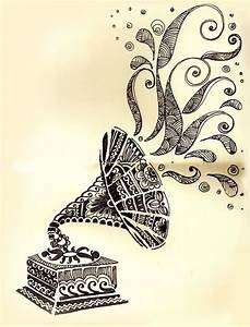 Top Gramophone Drawing Art Images for Pinterest Tattoos