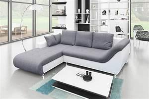 Canape Gris Et Blanc : canape gris blanc id es de d coration int rieure french decor ~ Melissatoandfro.com Idées de Décoration