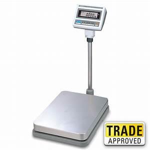 CAS DB-II Digital Weighing Floor Scale - Large Platform ...