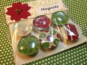 Christmas Magnets using Stampin Up DSP by laura513 at