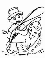 Fishing Colorear Drawing Ausmalbilder Coloring Pescando Printable Menino Peces Peixe Fisch Weather Cold Grande Imprimir Desenho Colorir Pintar Ratatouille Konabeun sketch template