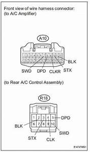 Toyota Sienna Service Manual  Rear Air Conditioning