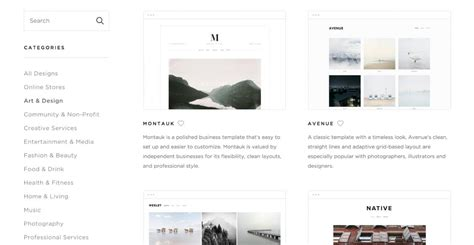 Squarespace Offers Modern And Intuitive Website Templates Website Makers Best Website Builders For A