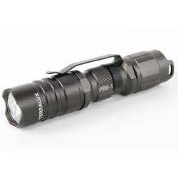 Terralux Inc TLF-PRO-1-GRY Pro Series 150 Titanium Grey Aluminum LED Flashlight