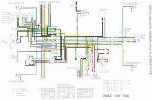 Honda Cb50j For Be  De And At Wiring Schematic