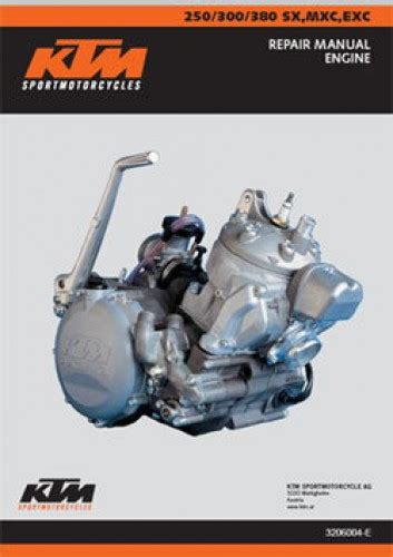 Ktm Mxc Exc Stroke Engine Manual