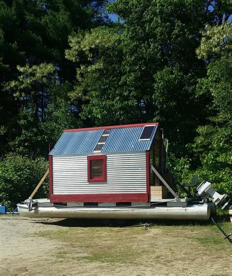 Puddle Duck Boats For Sale by Budget Boating Houseboats Shantyboats Minimalist Cruising
