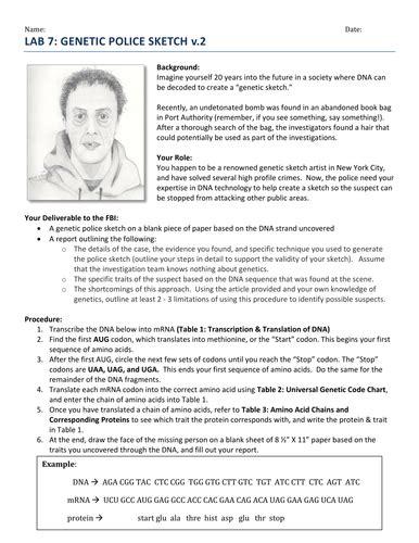 forensics worksheets rcnschool