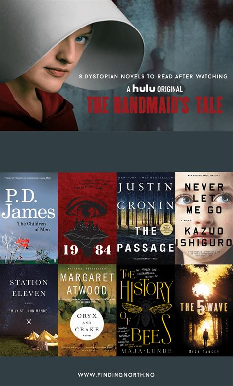 8 Dystopian Novels To Read After Watching The Handmaid's