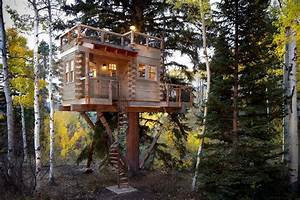 Rustic Treehouse Cabin in Colorado HiConsumption