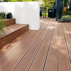 lame de terrasse en composite rouge par castorama With lame composite pour terrasse