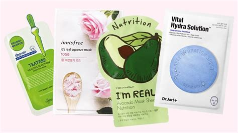 the best korean sheet masks for that quot perfect skin quot look