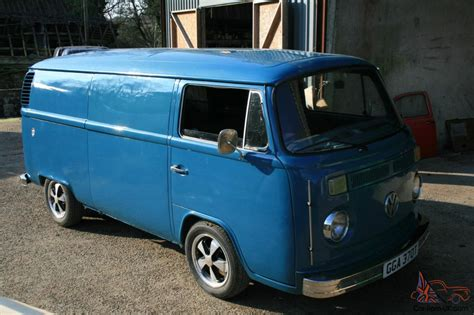 vw type   panel van completely restored real