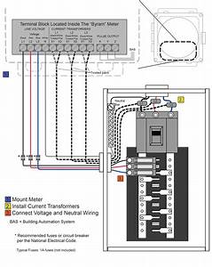 3 Phase Meter Wiring Diagram Wires - Wiring Diagrams Image Free