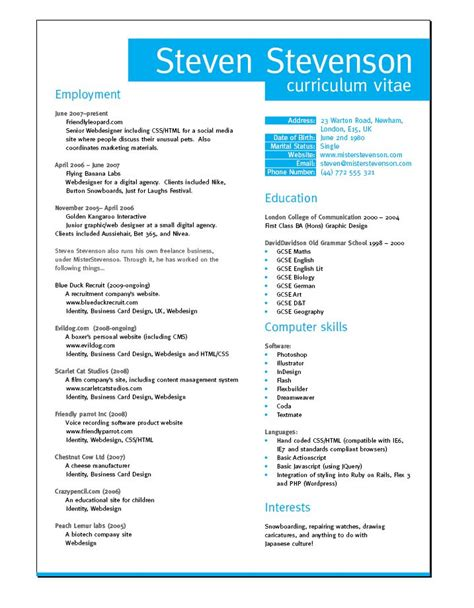 Resume Layouts For Word by Best 25 Resume Layout Ideas On Resume Ideas