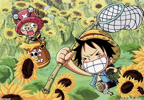 One Piece Chibi Wallpaper ·①