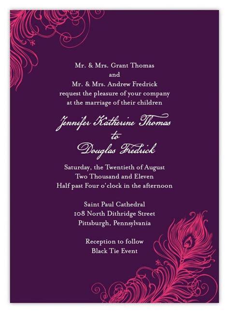 indian wedding invitation wording template indian